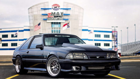 Black Ford Mustang Foxbody - CCW Twisted Classic Forged Wheels