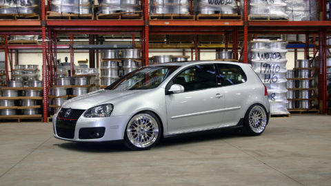 Reflex Silver Metallic Golf MK5 GTI - CCW Classic Wheels