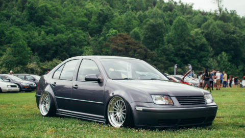 Gray VW Jetta - CCW D11 Forged Wheels