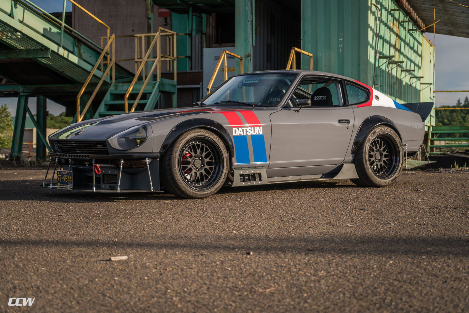1972 Datsun 240z - CCW LM20 Three-Piece Forged Wheels
