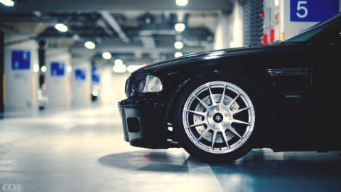 Jet Black BMW E46 M3 Convertible - CCW TS12 Monoblock Forged Wheels