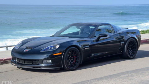 Chevrolet C6 Z06 Corvette - CCW TS12 Monoblock Forged Wheels