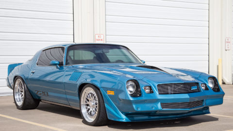 Blue 1979 Chevrolet Camaro Pro-Touring - CCW Classic / CCW Classic 2 Wheels